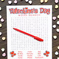 Valentine Word Search