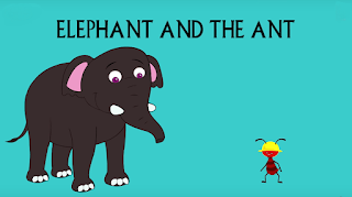 elephant and ant