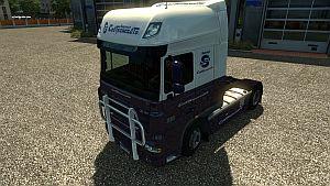 SovTransAuto DAF XF & 50k skin
