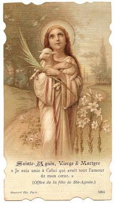 Santa Ines Sainte Agnes