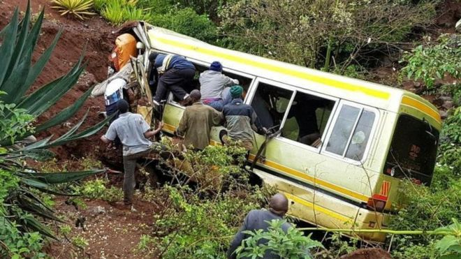Tanzania school bus crash kills dozens