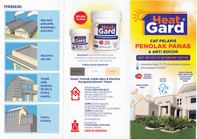 Cat Anti Panas dan Waterproofing HEATGARD