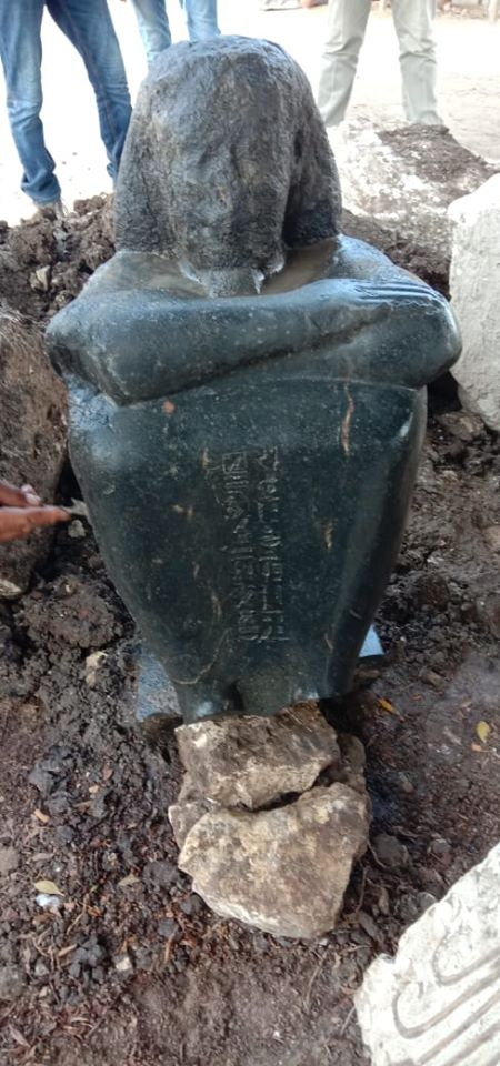 Egyptian archaeologists find statue of ancient priest of Hathor