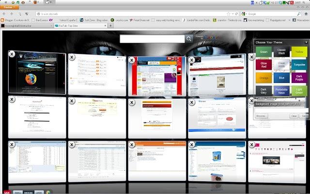 Fox Tab [Efecto 3D en tu página de inicio de Firefox]