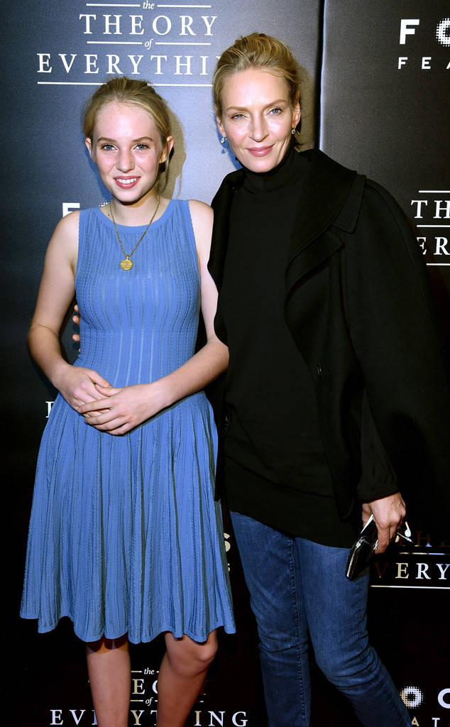 Uma Thurman și Maya Thurman-Hawke