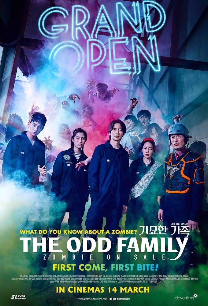 Review Filem The Odd Family: Zombie On Sale