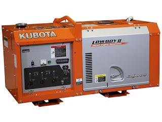 máy phát điện gia đình Kubota