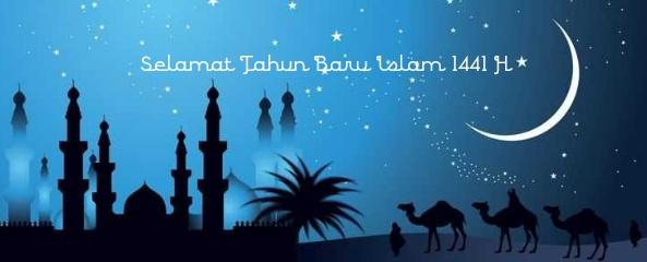 desain gambar tahun baru 1 muharam 1441 hijriyah