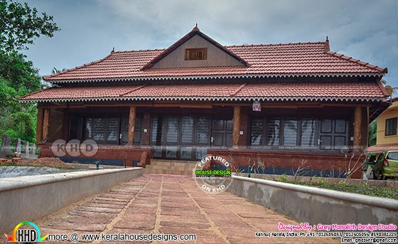 Traditional Style Holiday Home at Kannur, Kerala