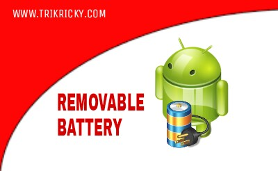 Non removable battery