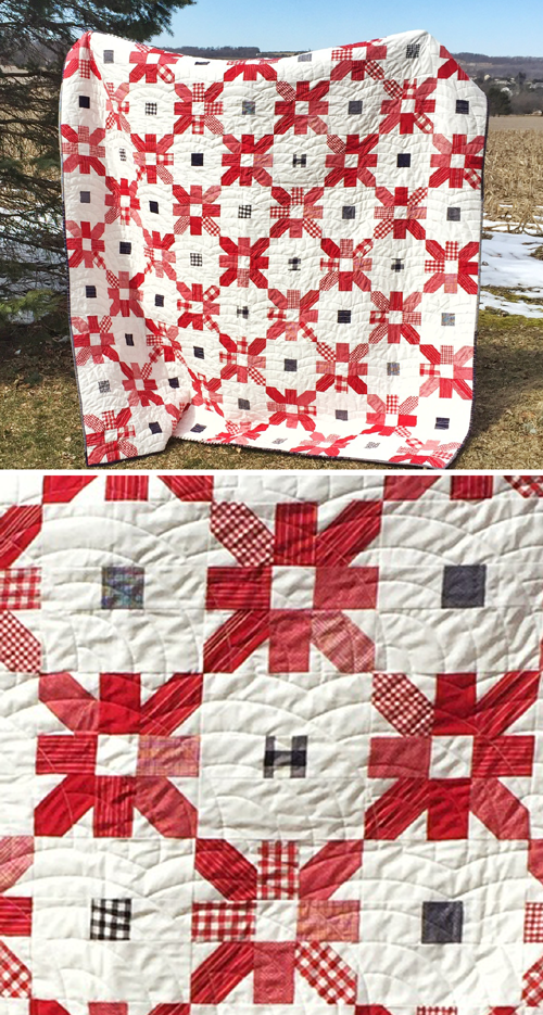 Picnic Fireworks Quilt - Free Pattern