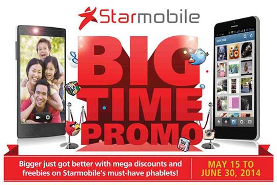 Starmobile Big Time Promo