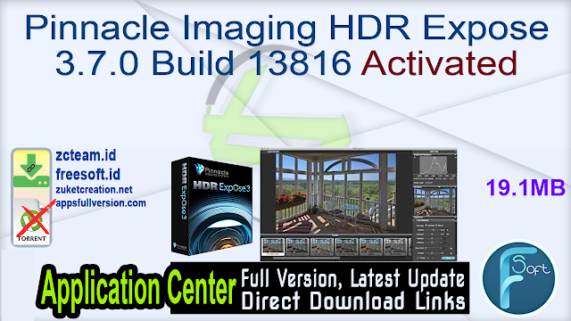Pinnacle Imaging HDR Expose 3.7.0 Build 13816 Activated_ ZcTeam.id
