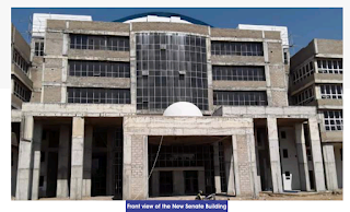 A picture of Bayero University Kano senate building will be ready for commissioning very soon