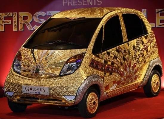 दुनिया की सबसे महंगी सोने की कार (कीमत 502 करोड़)