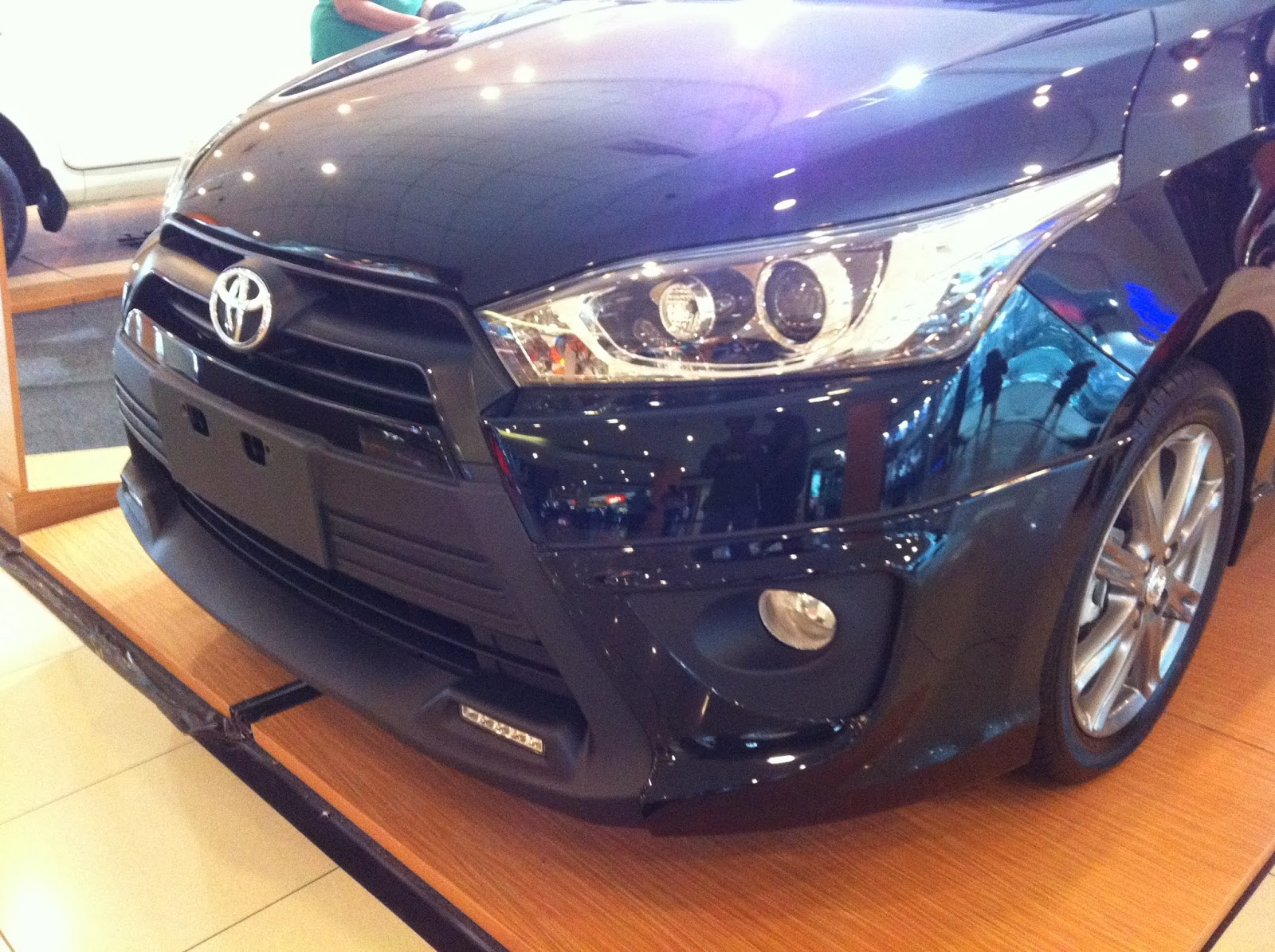 Beda New Yaris G Dan Trd Toyota First Impression All 2014 Andra