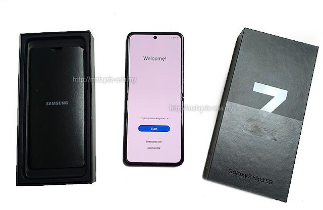 Malaysia Galaxy Z Flip3 5G Review