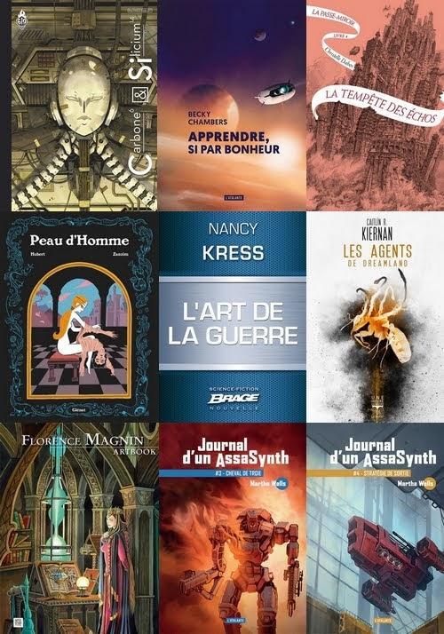 Lectures de décembre - Couverture