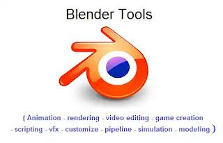 Blender Tool: مقدمة عن ادوات البلندر Blender Tool