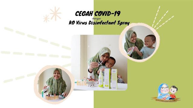 cairan disinfektan aman untuk keluarga