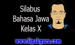Silabus Bahasa Jawa Kelas X, Semester 1