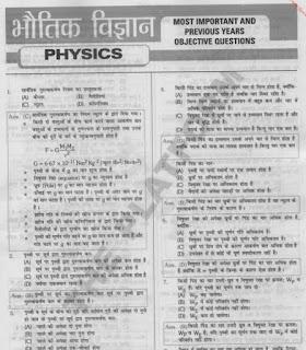 Physics objective questions pdf