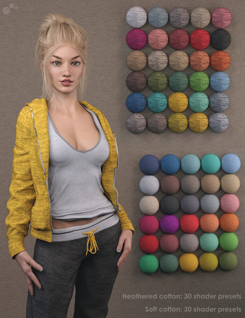Fabric Factory: Realistic Texturing - Iray Shader Presets