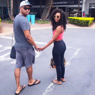 Pearl Modiadie Enjoys Love With Bae In Durban