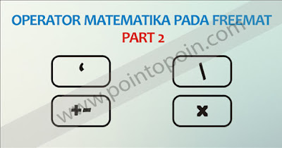 Operator Matematika Pada FreeMat Part 2