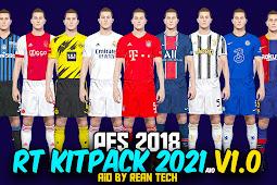Pes 2018 - Rt Kitpack Season 2021 Aio V1.0 By Rean Tech