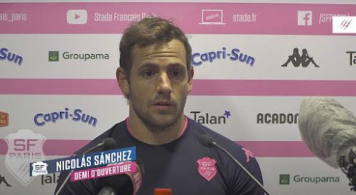 Nicolás Sánchez renovó contrato con el Stade Français