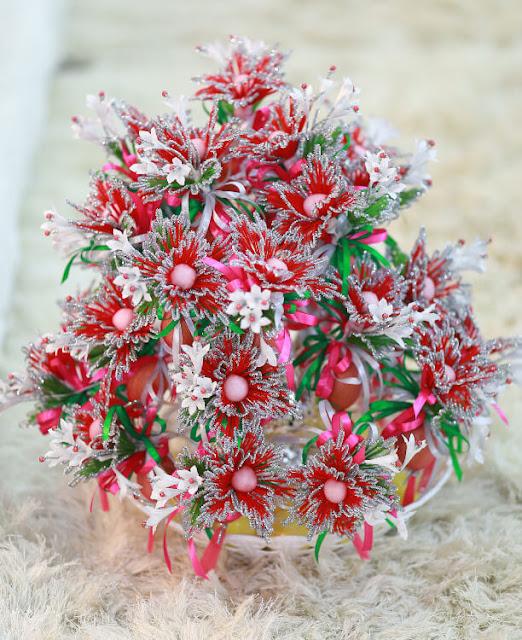 bunga telur pernikahan malaysia