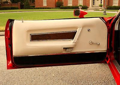 1973 Ford Mustang Mach 1 Fastback Door Interior