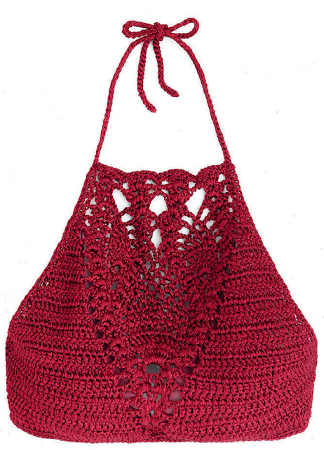 Crochet Halter Topee Patterns Crochetribart