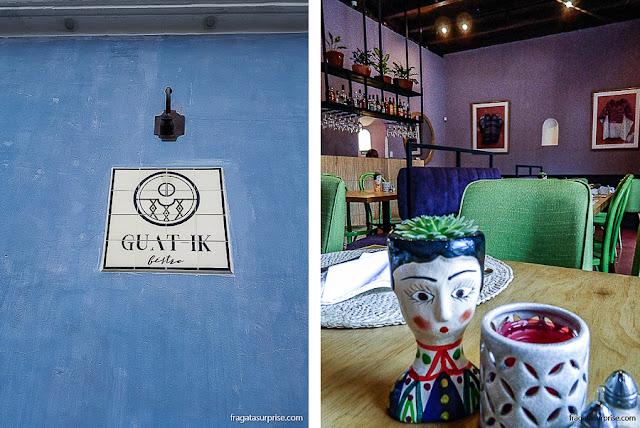 Guat-Ik Bistro, restaurante em Antigua, Guatemala