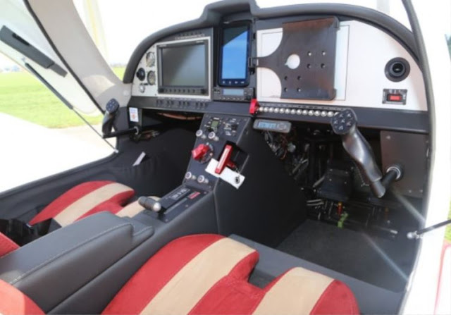 ONE Light Sport Aircraft cockpit