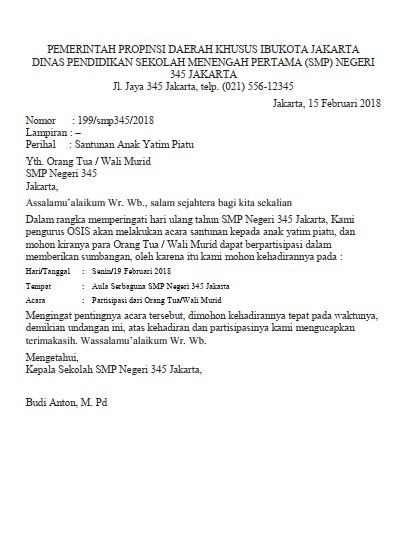Contoh Surat Dinas PDF (via: suratresmi.id)