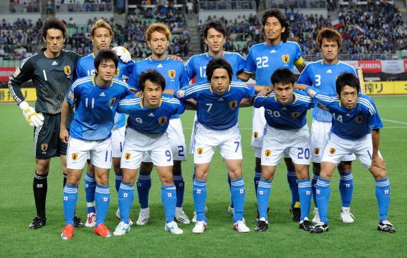 Formación de Japón ante Chile, Kirin Cup 2009, 27 de mayo