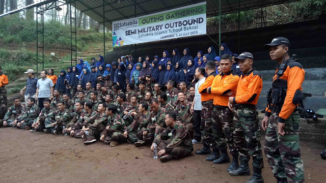 CHARACTER BUILDING | Konsep Outbound Semi Militer di Bandung