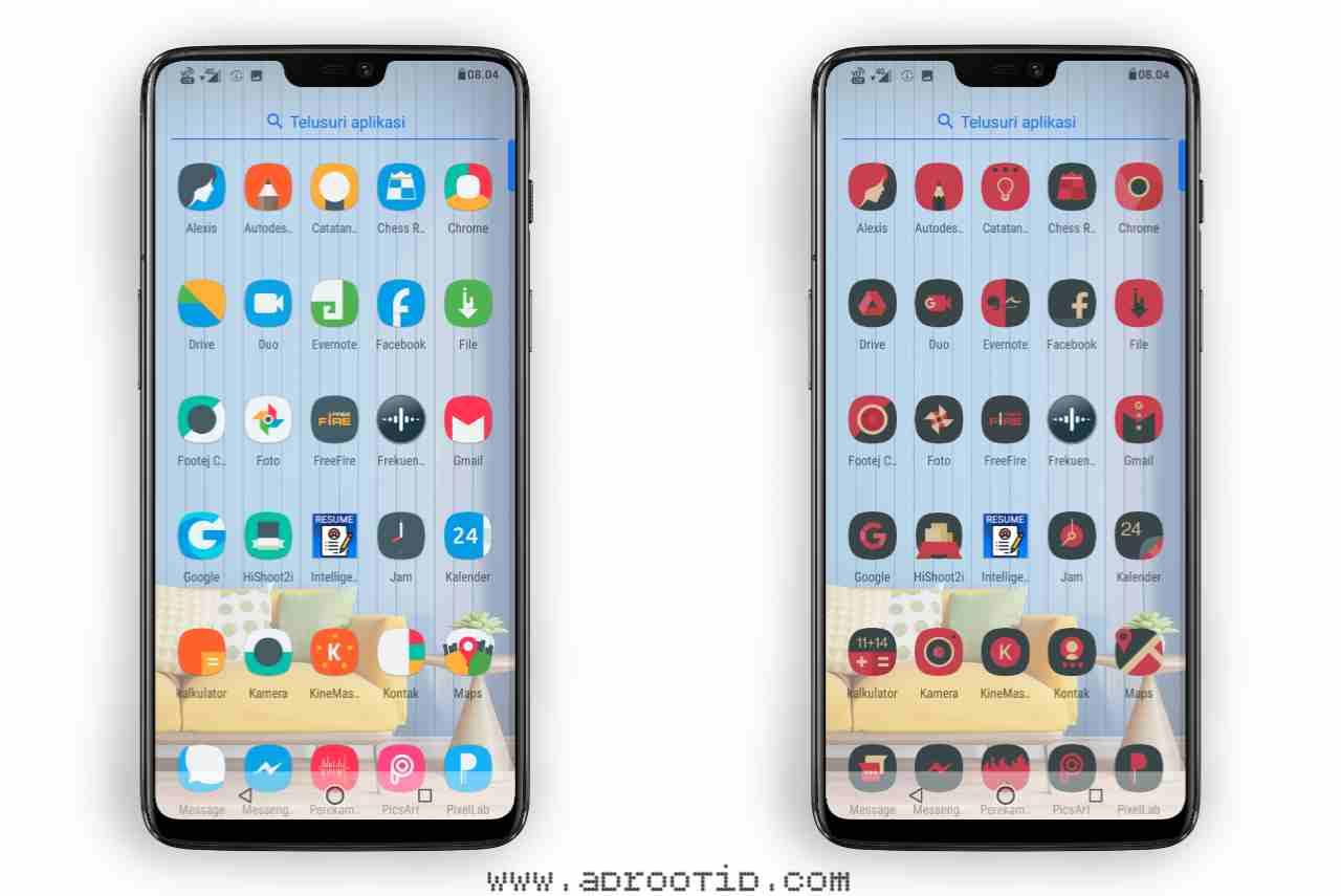Icon Pack untuk Asus Zenfone