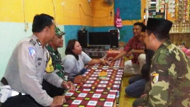 Bersama Aparat, Ansor Tertibkan Kafe di Kawasan Gresik