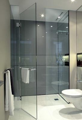 pintu kamar mandi minimalis berbahan kaca