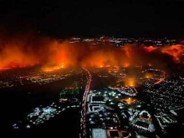 Amerika Diserang Badai Api