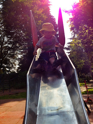 Day 145 of The 366 Project, fun at the park