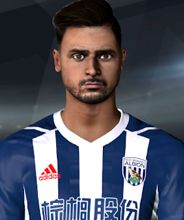PES 2017 Faces Nasser El Chadli by A. Hamdy Facemaker