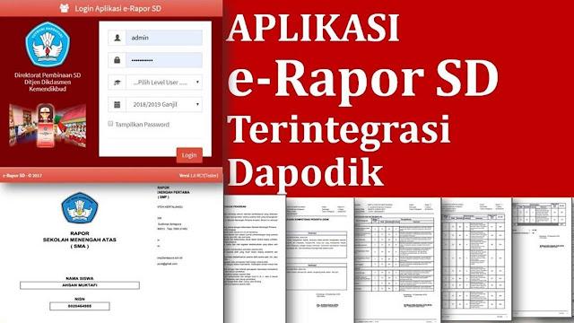 Ulasan Lengkap E-Rapor SD Kemendikbud