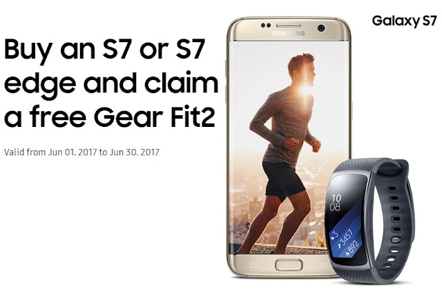 Grab free Gear Fit 2 in UK with Galaxy S7 purchase