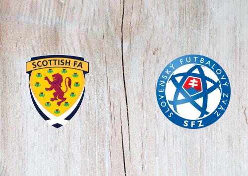 Scotland vs Slovakia -Highlights 11 October 2020