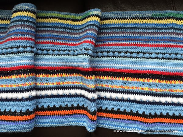 My Sky Blanket - progress so far