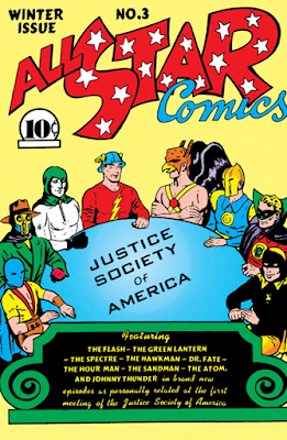 All-Star Comics (1940) #3 Cover